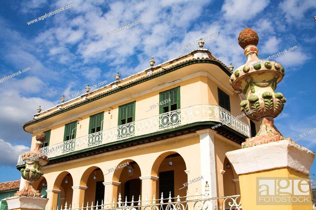 Museo Romantico.Museo Romantico Romantic Museum Plaza Mayor Trinidad Sancti