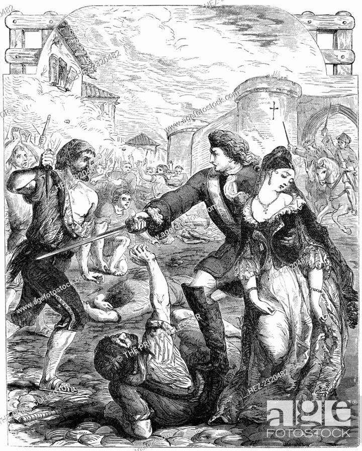 The Rescue of the Duchess of Popoli', 18th century (19th