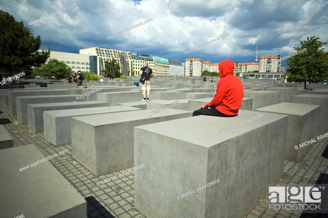 Imagen: Memorial to the Murdered Jews of Europe in Berlin, Germany.