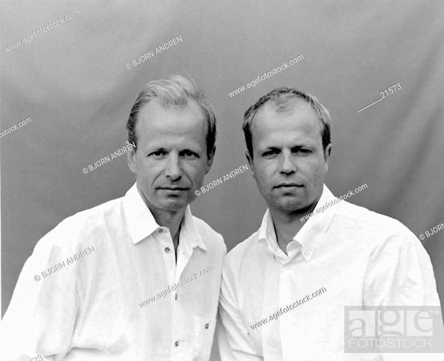 Stock Photo: Brothers.