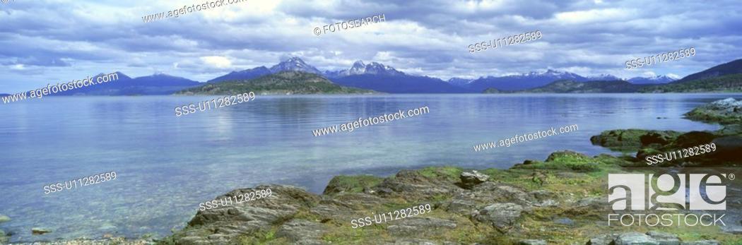 Stock Photo: Panoramic view of Argentina.