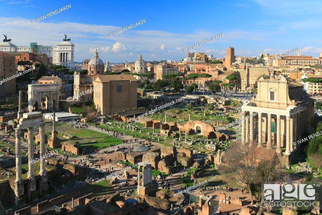 Imagen: Roman Forum, Rome, Italy.
