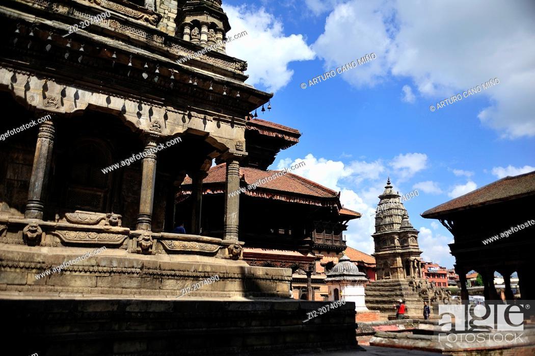 Stock Photo: Durbar Square, Bhaktapur, Nepal.