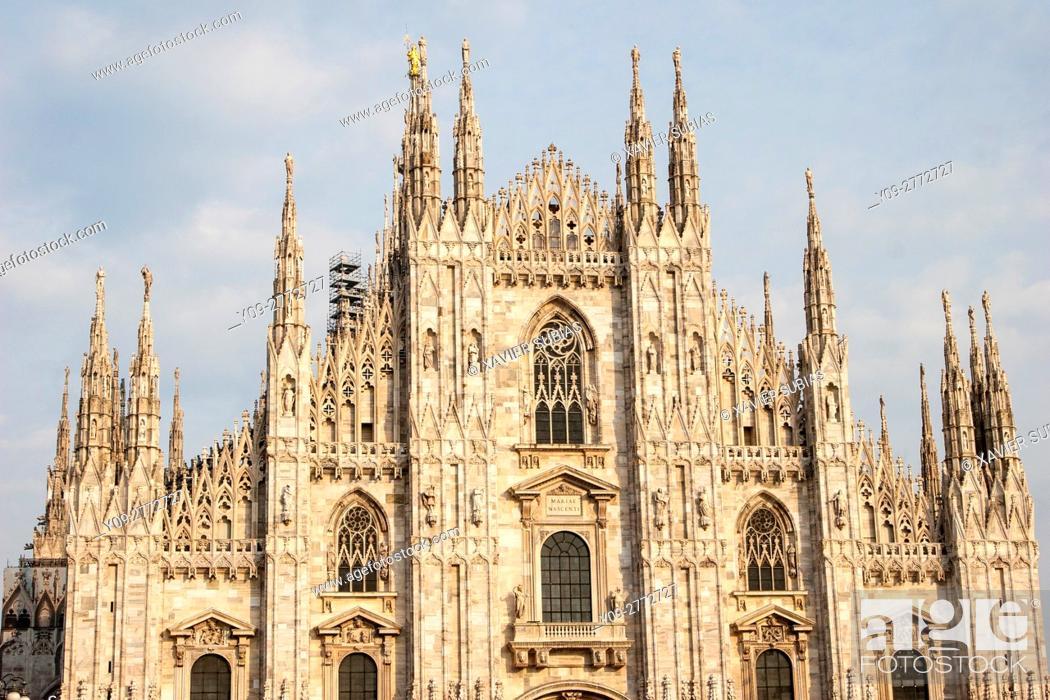 Photo de stock: Duomo, Milan, Lombardy, Italy.