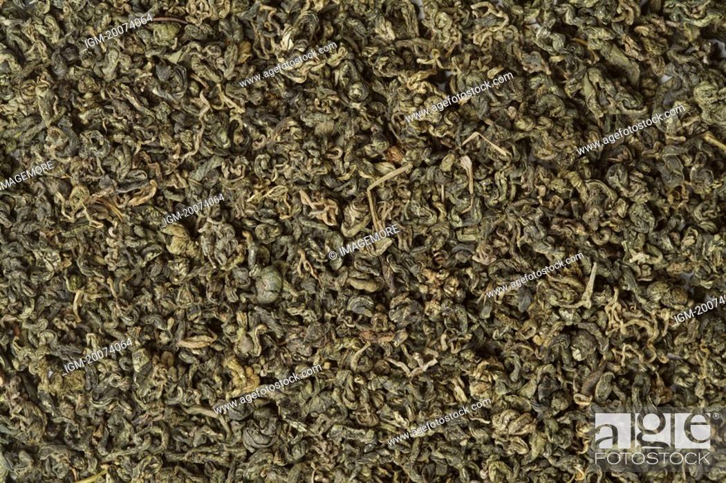 Stock Photo: Tea leaves.