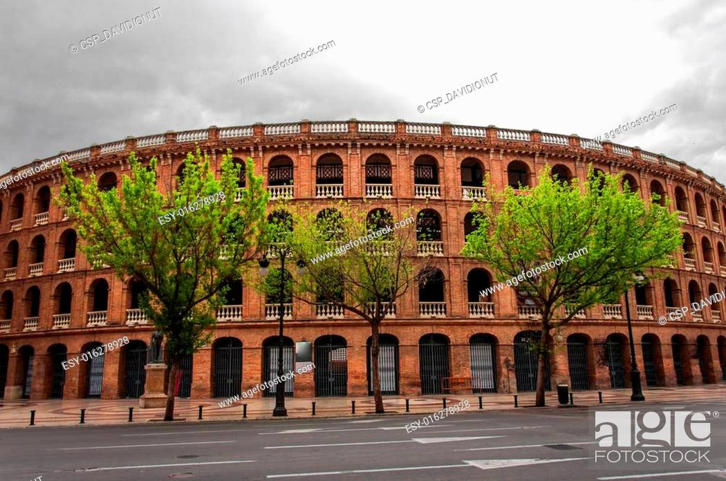 Stock Photo: Arena of Valencia.