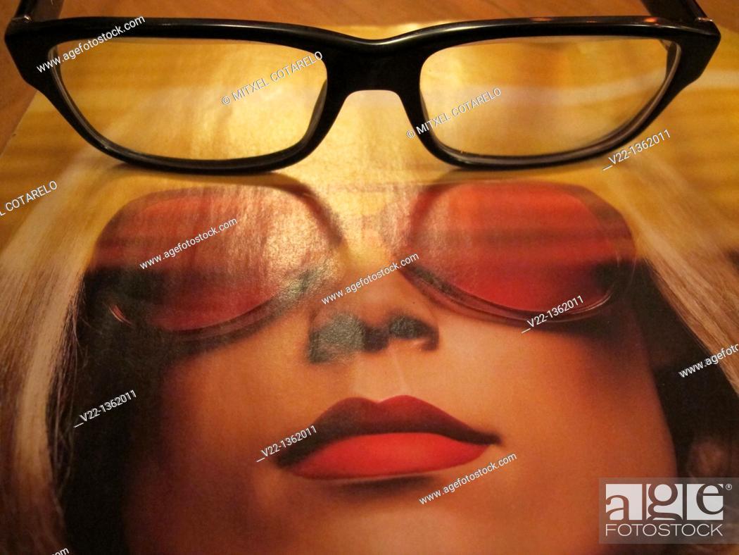 Stock Photo: FASHION GLASSES.