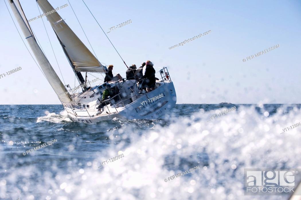 Stock Photo: Yachting.