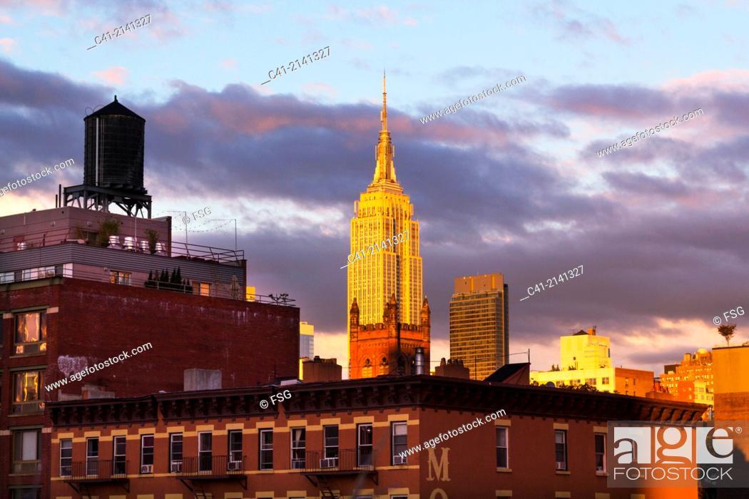 Imagen: Empire State Building. New York City. NY, USA.
