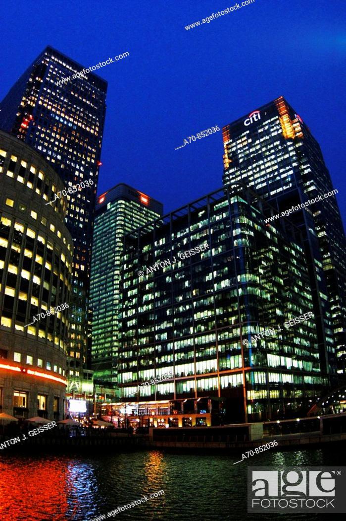 Citibank, HSBC Bank  London  England, Stock Photo, Picture