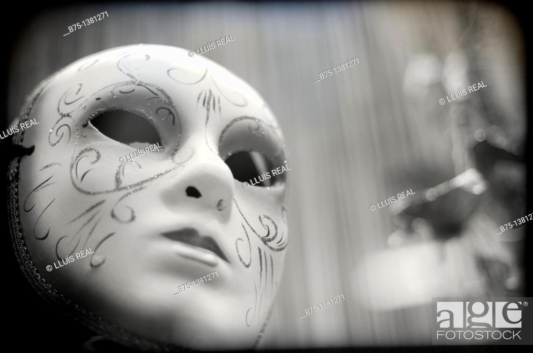 Stock Photo: Mask.
