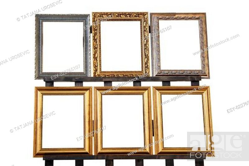 Stock Photo: Decorative frames.