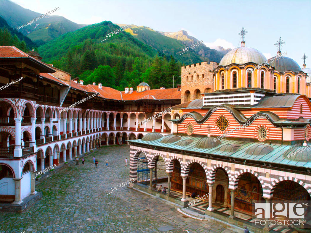 Stock Photo: Rila Monastery, Bulgaria.