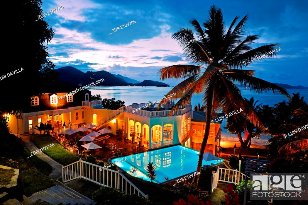 Stock Photo: praslin.hotel l'archipel.