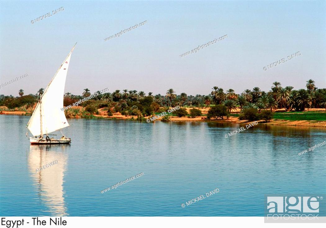 Stock Photo: Egypt - The Nile.