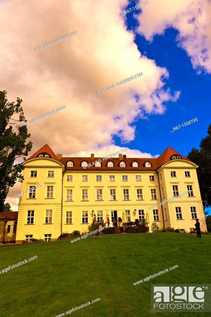 Stock Photo: Hotel Schloss Wedendorf, Wedendorf, Mecklenburg-West Pomerania, Germany.