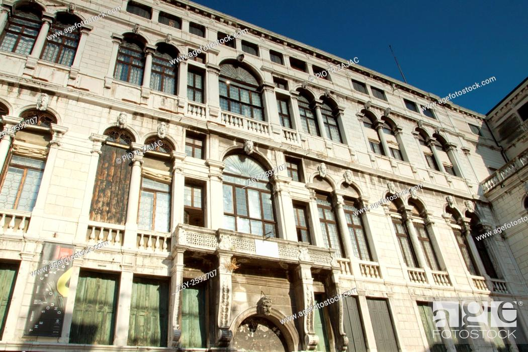 Stock Photo: Conservatorio di musica Benedetto Marcello in Venice, Italy.