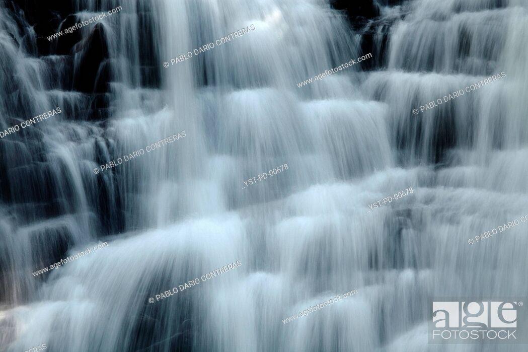 Stock Photo: Waterfall, Paraná, Brazil.