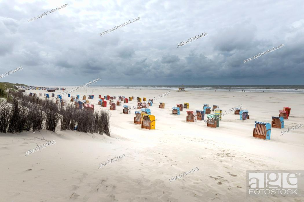 Stock Photo: Germany, Lower Saxony, East Frisia, Juist, on the beach of Juist.