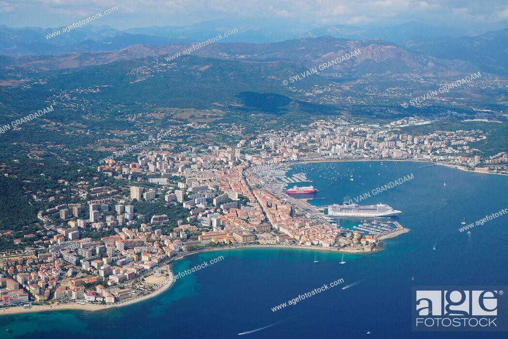 Stock Photo: France, Corsica, Ajaccio.