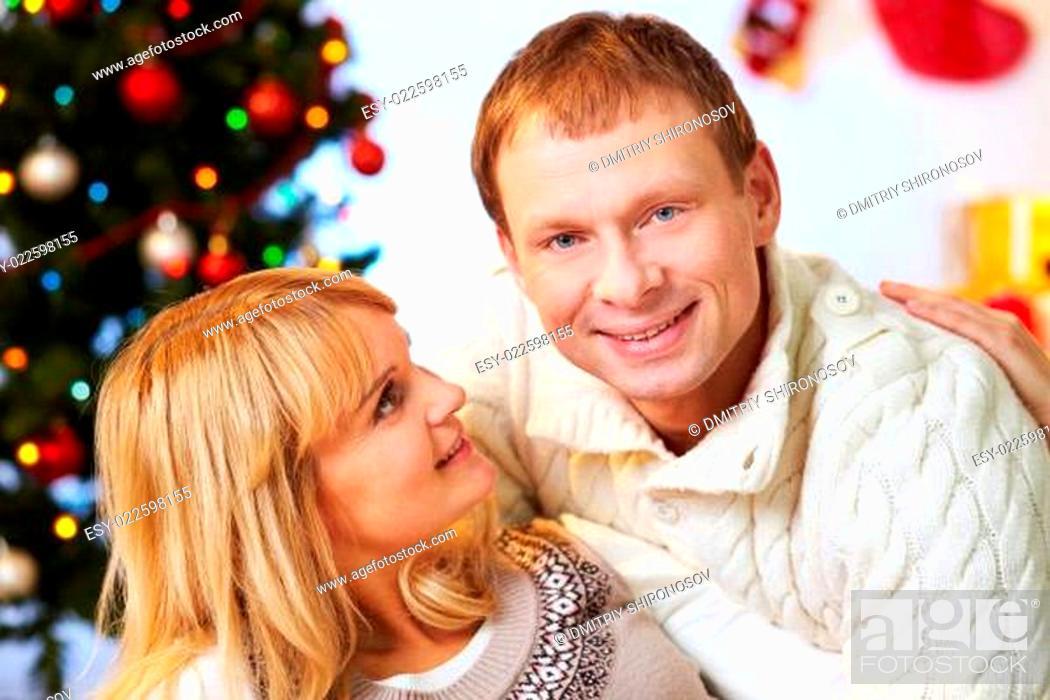 Photo de stock: Happy couple.