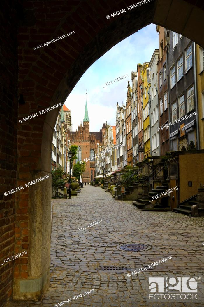 Stock Photo: Old Town of Gdansk.