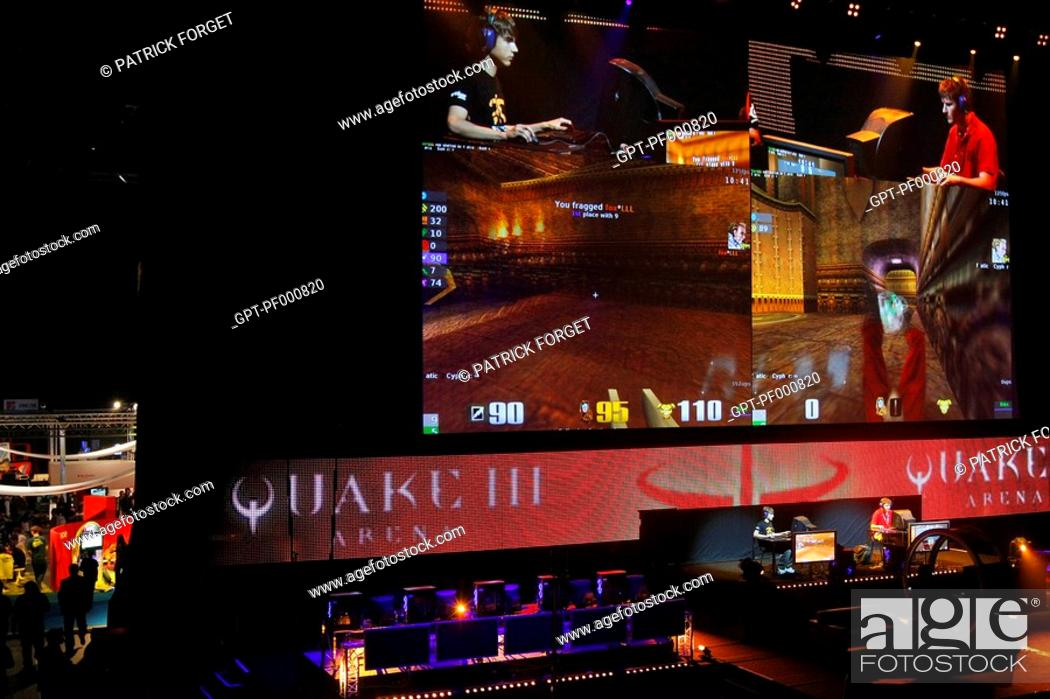 CYPHER FOREGROUND VERSUS FOX, QUAKE III FINALS, THE GAMING
