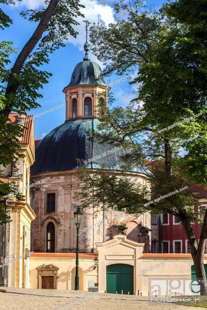 Imagen: Plasy, Czech Republic, Former cistercian monastery.
