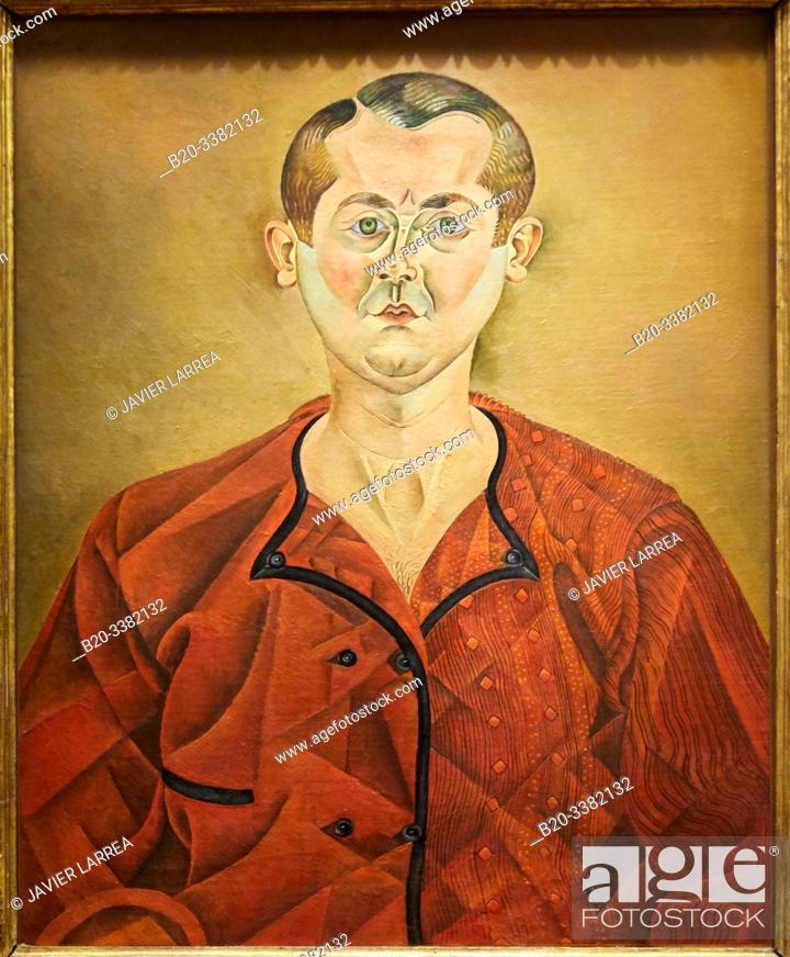"""Stock Photo: """"Autoportrait"""", 1919, Joan Miró, Picasso Museum, Paris, France, Europe."""
