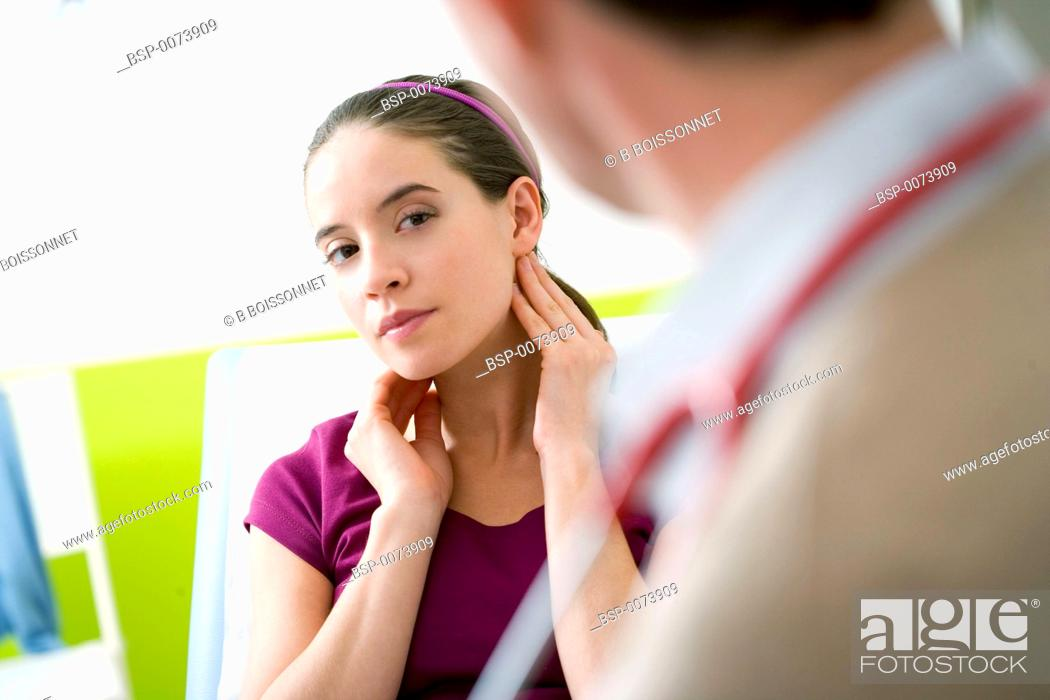 Stock Photo: WOMAN IN CONSULTATION Models.
