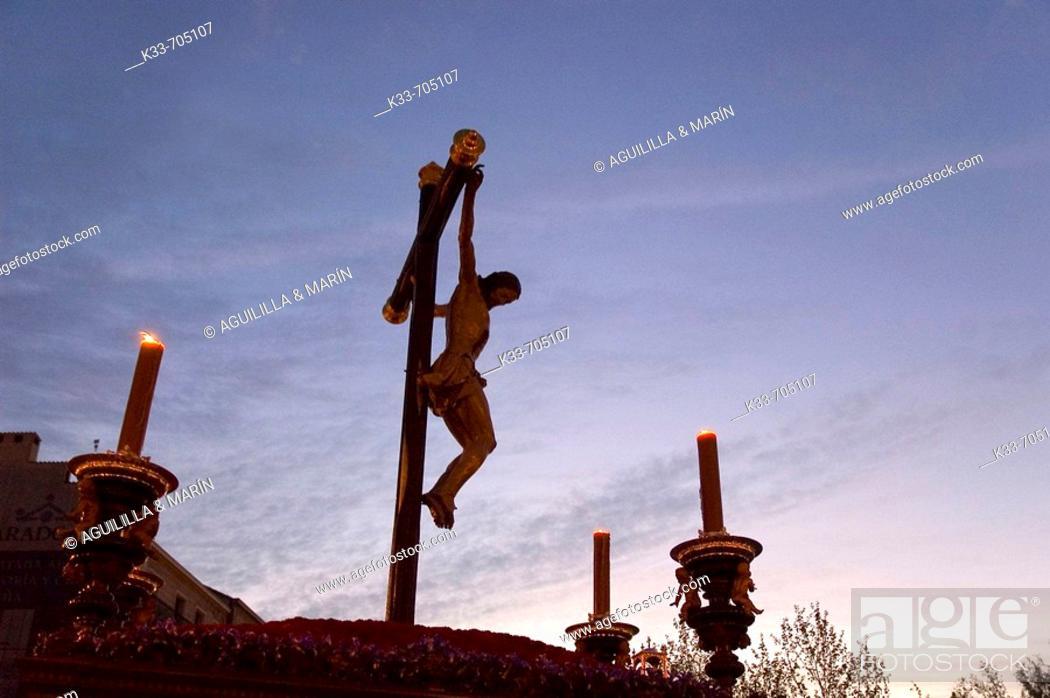 Stock Photo: Holy week. Madrid. Spain.