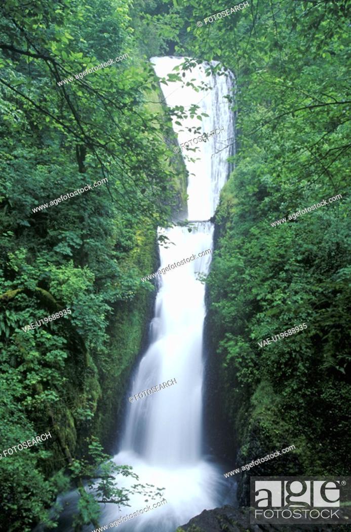 Stock Photo: Bridal Veil Falls.