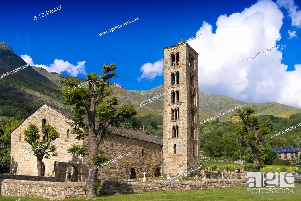 Imagen: Spain, Catalonia, Romanesque church of Sant Climent of Taull de Boi.