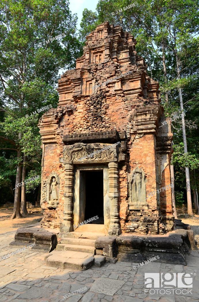 Imagen: Preah Ko, 9th century. Hariharalaya (Roluos), Siem Reap, Cambodia.