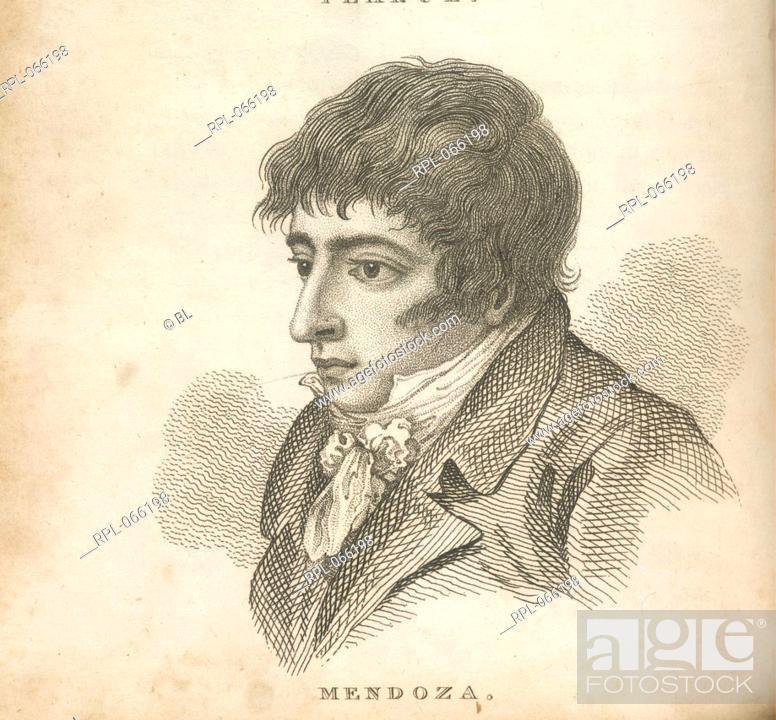 Imagen: Daniel Mendoza 1764-1836. Pugilist/Boxer. Portrait. Known as the 'father of scientific boxing'. Billed himself as 'Mendoza the Jew'.