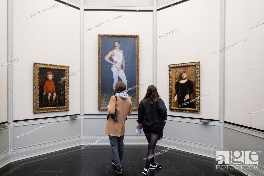 Stock Photo: Alte Nationalgalerie on Museumsinsel, Berlin, Germany.