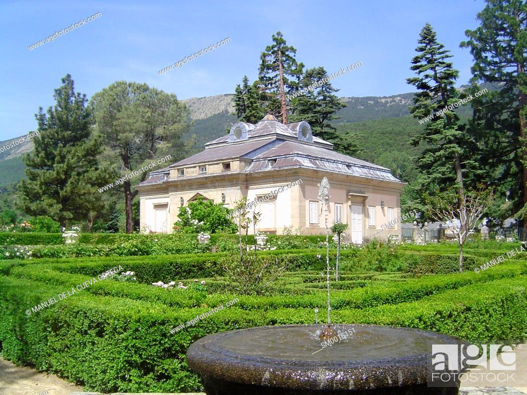 Stock Photo: casa del Infante Don Gabriel, San Lorenzo de El Escorial.