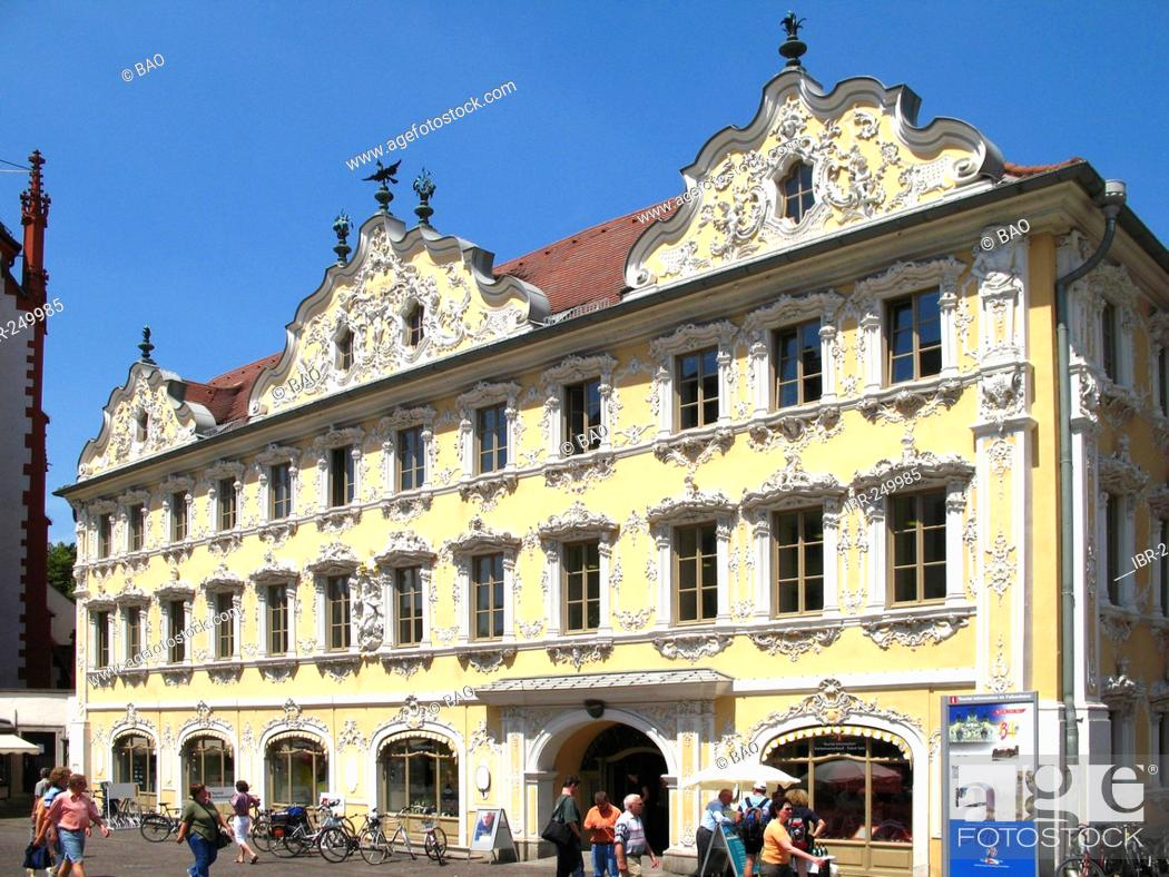Imagen: The Falkenhaus, Wuerzburg, Lower Franconia, Bavaria, Germany.