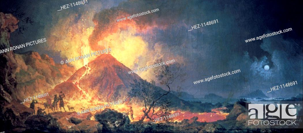 Eruption Of Vesuvius 1770s Vesuvius The Volcano Most Famous For