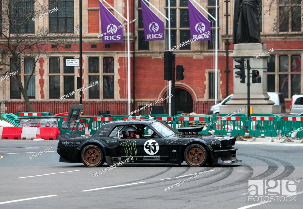 Top Gear' filming in London Featuring: Matt LeBlanc Where