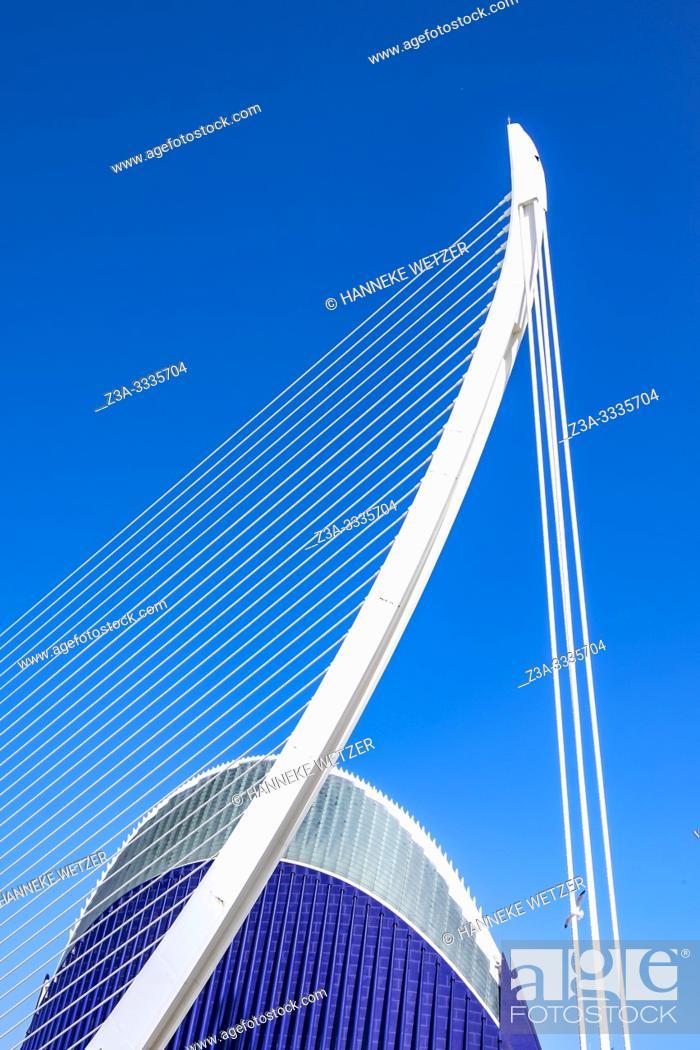 Stock Photo: Pont de l'assut in Valencia, Spain, Europe.