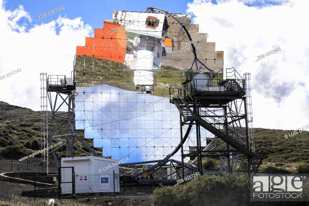 Imagen: roque de los muchachos astronomical observatory. garafia. la palma. canary islands. spain.