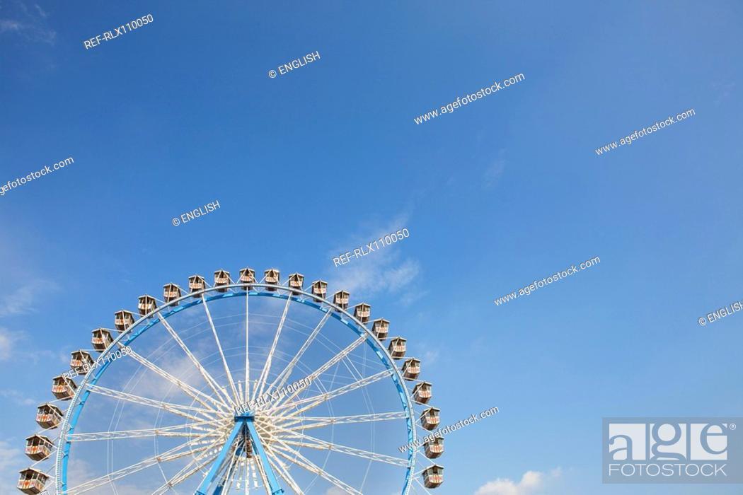 Stock Photo: Ferris wheel at Oktoberfest, beer festival, Munich, Germany.