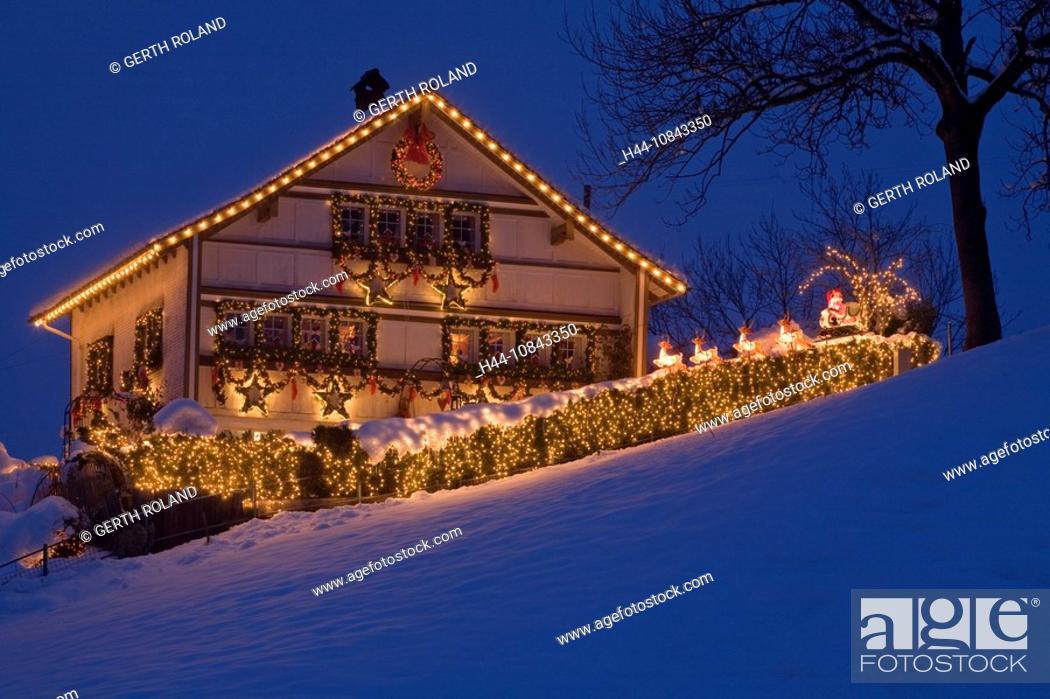 Switzerland Europe Buhler Appenzell Ausserrhoden