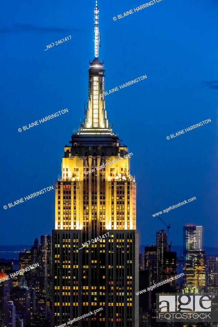 Stock Photo: Empire State Building, New York, New York USA.