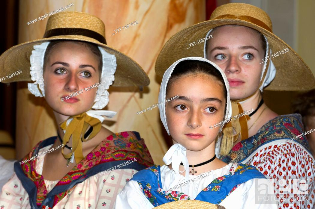 Stock Photo: Saint Tropez celebrates the bravado.