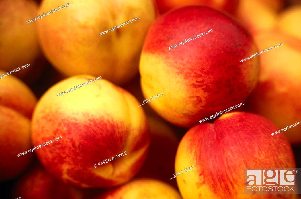 Imagen: Nectarines.