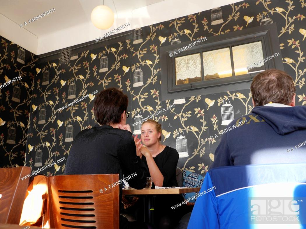 Stock Photo: Cafe Life Coffee House, Stockholm, Sweden.