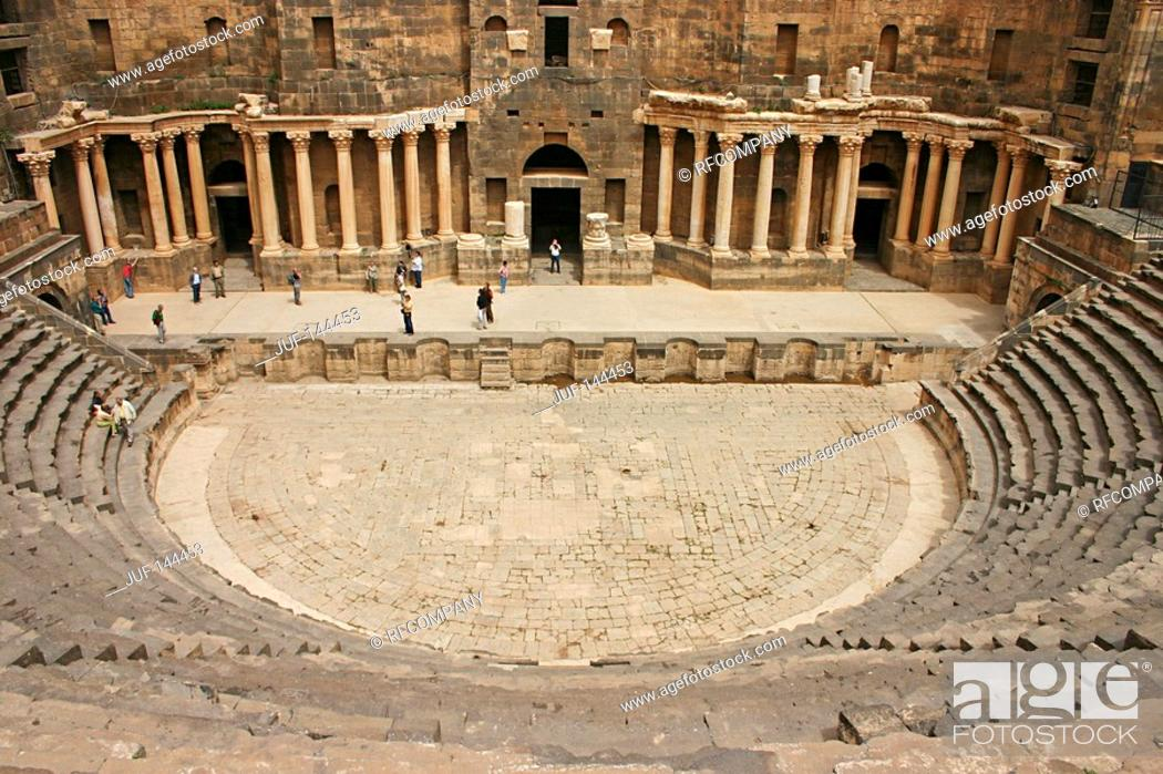 Stock Photo: Syria - Bosra.