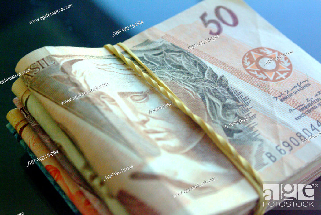 Stock Photo: Businesses Concepts II, money, Brazil.